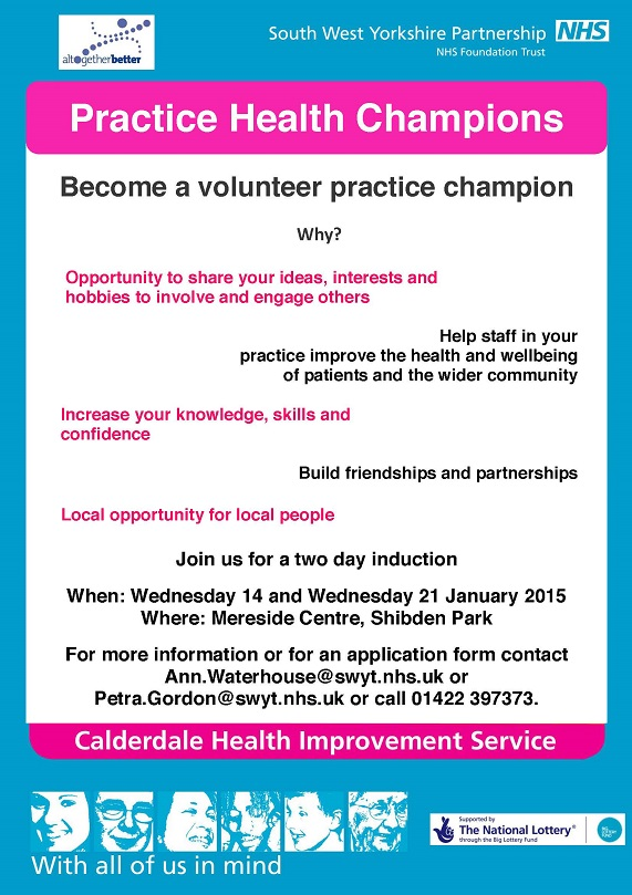 Become a Practice Health Champion
