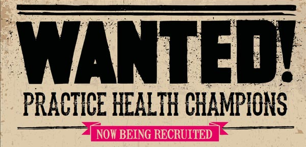 Wanted! Practice Health Champions